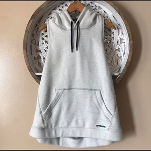 NWT Ivy Park M Open Back Hoodie